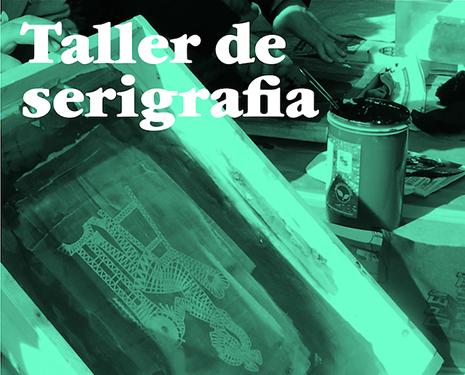 Taller de serigrafia
