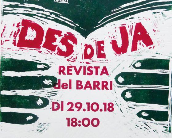 Gran presentació de la revista Des De Ja