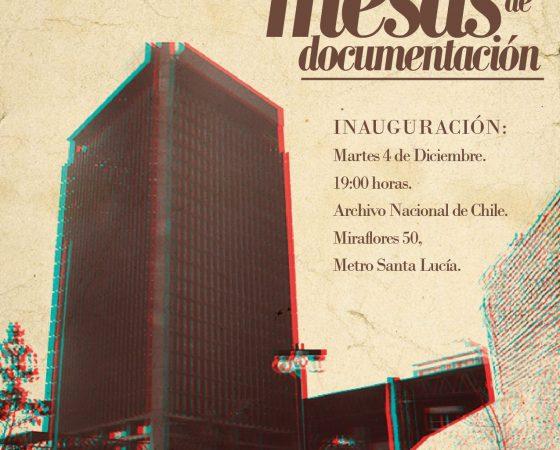 Tapices colectivos en el Archivo Nacional de Chile