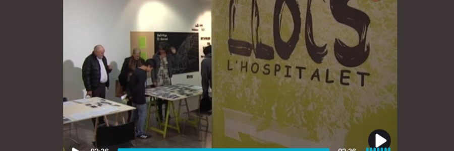 La inauguració de la expo de Llocs a L'H Digital