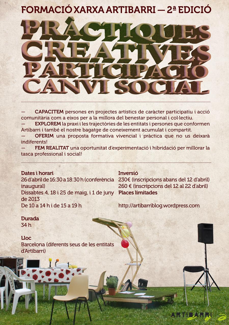 2ª edición del curso 'Prácticas artísticas, participación ...